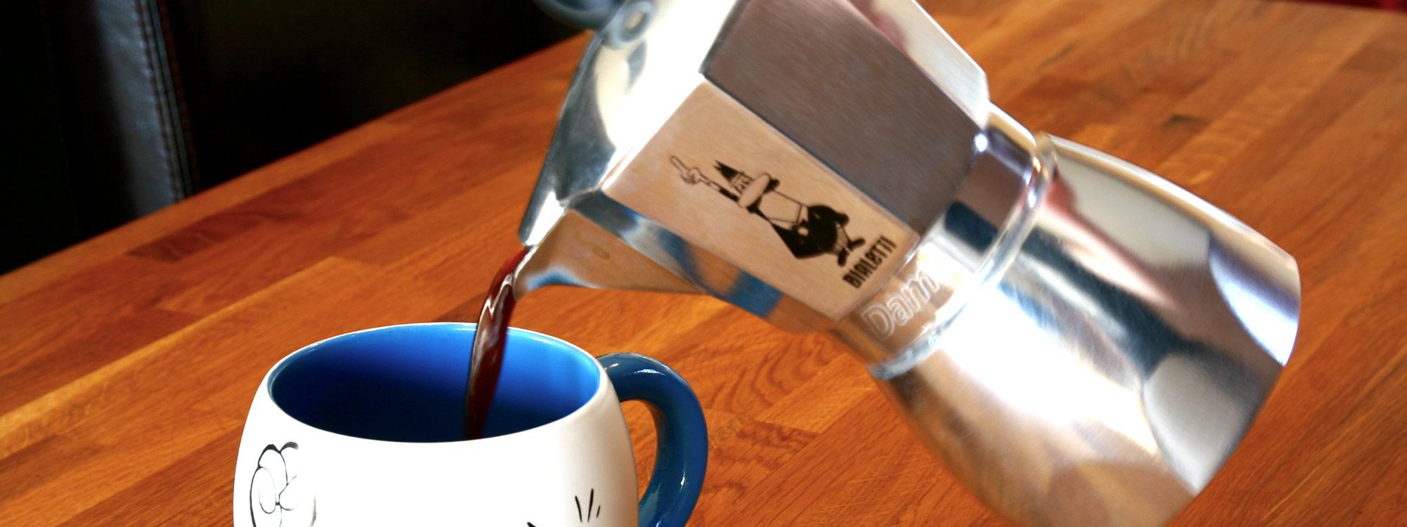 Brewing Methods - Moka Pot