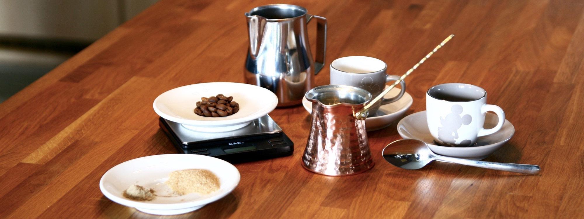 Turkish Coffee How To