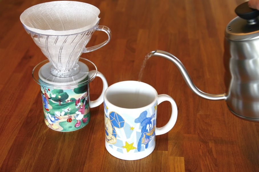 Pre-heat additional cups