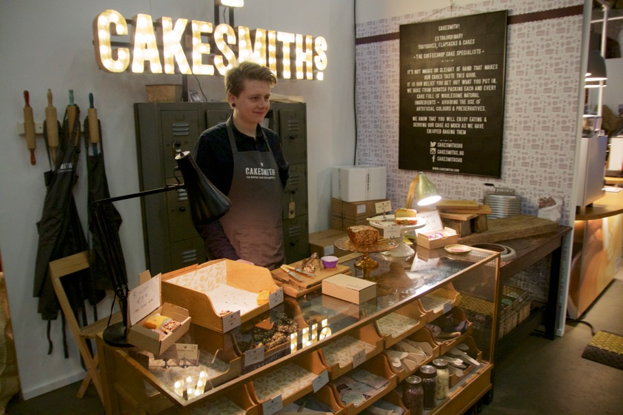 Cakesmith booth