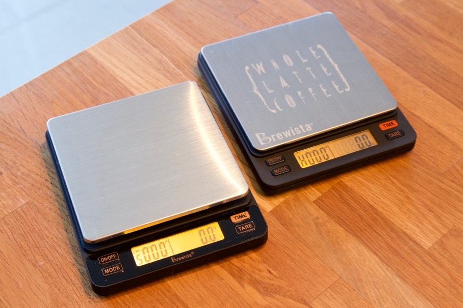 Brewista Smart Scale 2 Review - Original and new scale side by side
